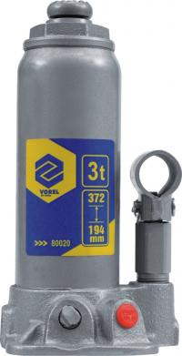 VOREL Hidrauliskais pacēlājs 3t tuv gs/ce quantity in the package IB / MC 06 length (mm) 194-372 max temperature (° C) 3 weight  21.40