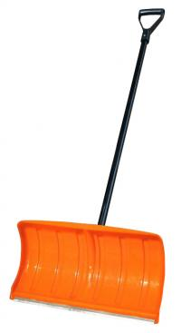 Snow shovel 55x29cm, met.handle D28x1.3m