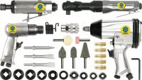 PNEUMATIC TOOL SET  1/4, 6.3 Bar