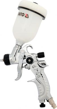 SPRAY GUN WITH FLUID CUP, HVLP 0.1L, 0.8 MM