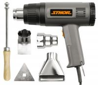 Fēns tehniskais- HOT AIR GUN 1500W INCL ACCESSORIES