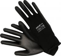 WORKING GLOVES, NYLON BLACK, 10'