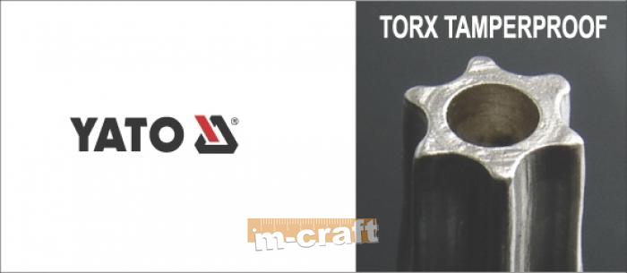 TORX KEY SET, LONG T10-T50, 9 шт