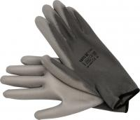 WORKING GLOVES, NYLON GREY, 10'