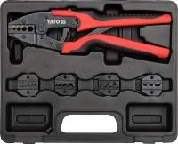 QUICK INTERCHANGEABLE RATCHET CRIMPER SET, 6 gb